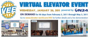 vee: virtual elevator event